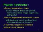 program terstruktur1