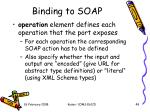 binding to soap1