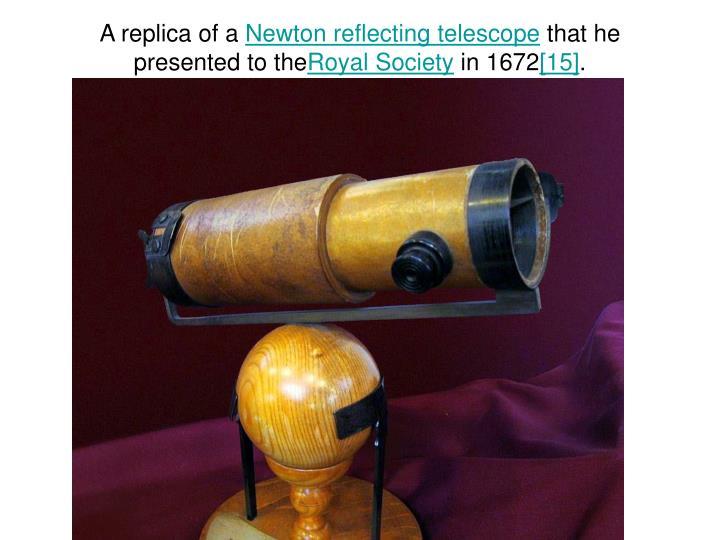 A replica of a