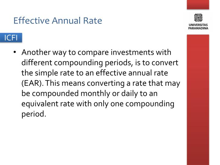 investment and effective annual rate 1 an investment grows by 7% per year for 20 years by what percent does it increase over the 20-year period 2 an investment grows by 27% over a 6-year period what is its effective annual percent growth rate 3 what are the nominal and effective annual rates for an account paying 7% annual interest, compounded (round the answers to three.