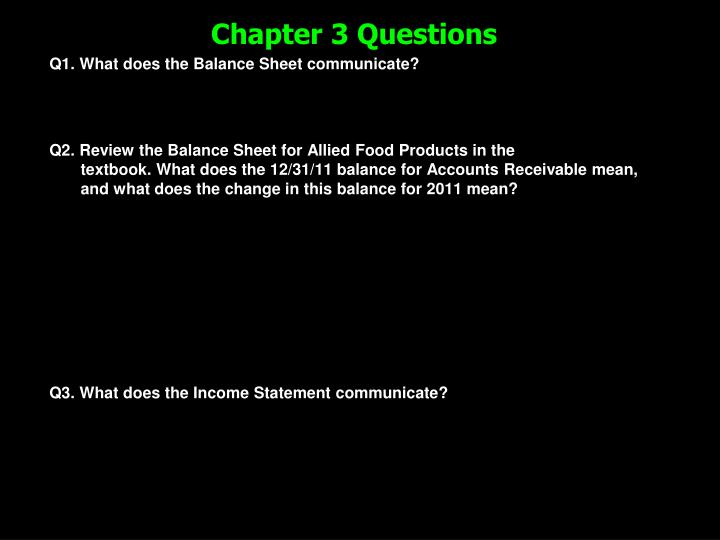 chapter 3 questions n.