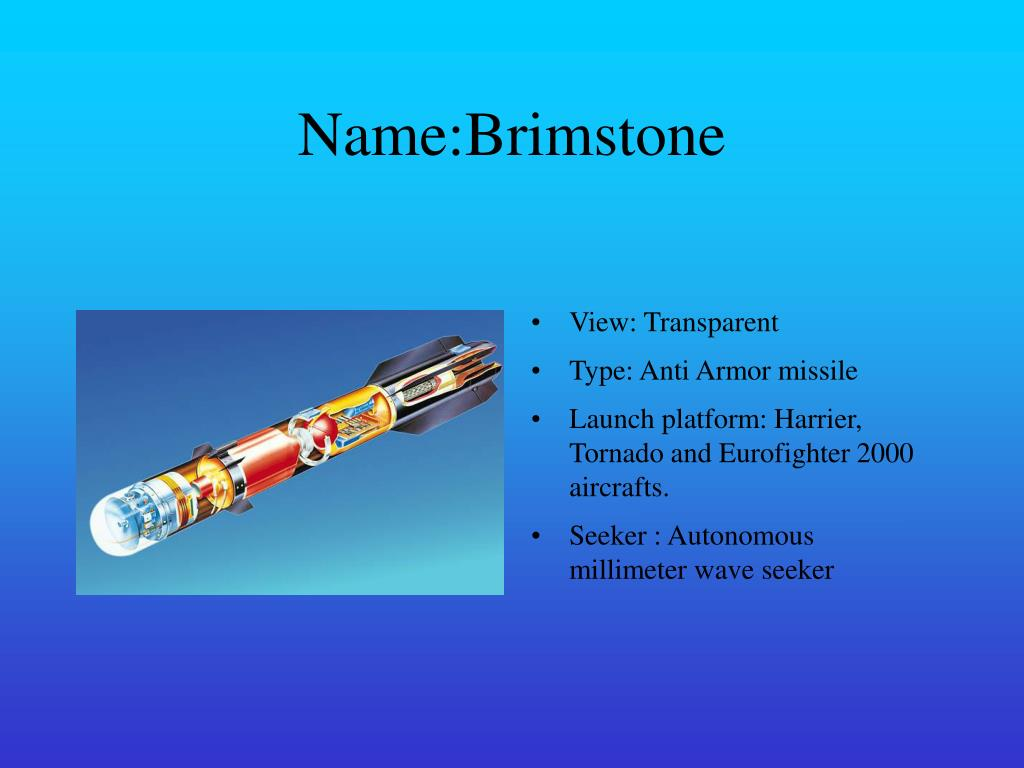 PPT - Advanced Missiles PowerPoint Presentation - ID:5737252