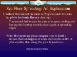 sea floor spreading an explanation1