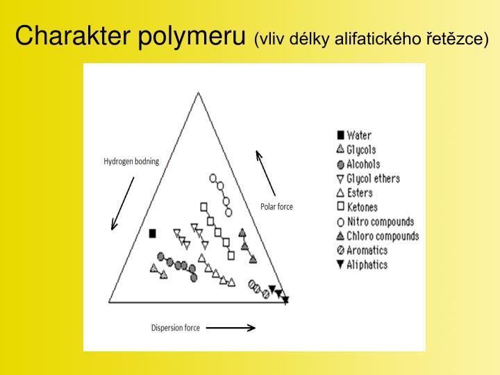 Charakter polymeru