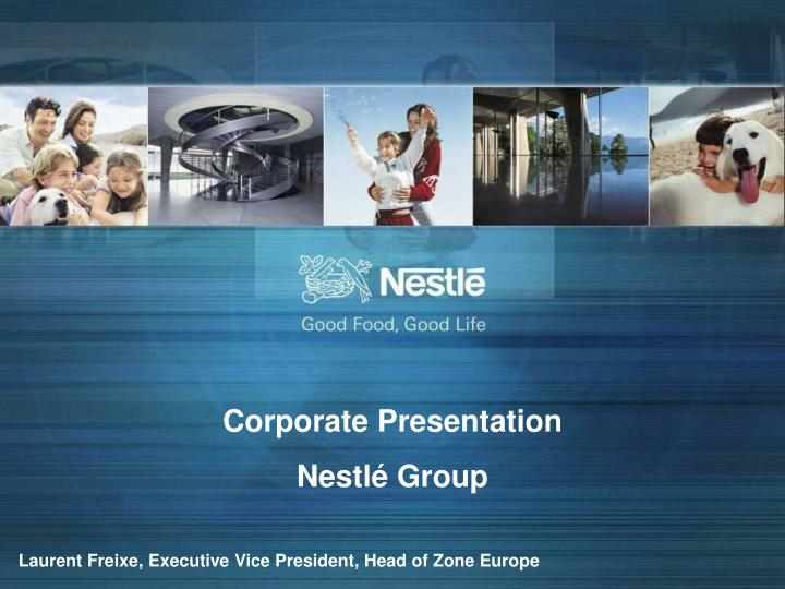 ppt - corporate presentation nestlé group powerpoint presentation, Presentation templates