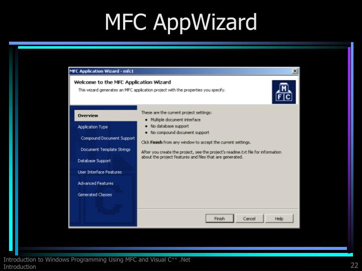 MFC AppWizard