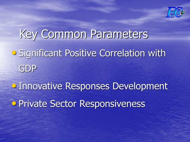 Key Common Parameters