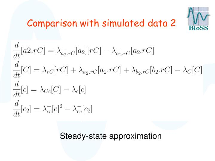 Comparison with simulated data 2