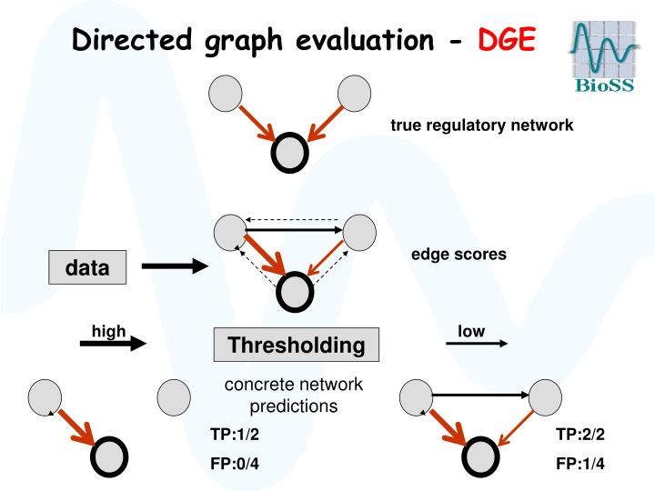 Directed graph evaluation -