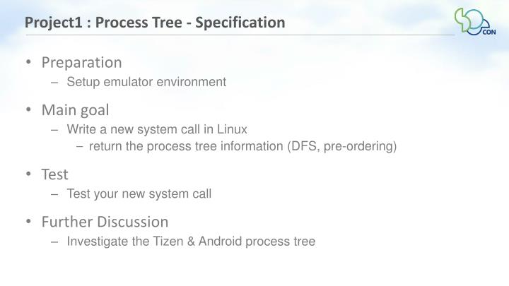 Project1 : Process