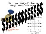 common design problems design capacity water source5