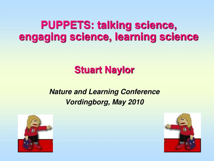 puppets talking science engaging science learning science n.