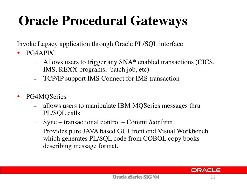 PPT - Peter Wong Oracle Corporation Peter wong@oracle Oracle zSeries