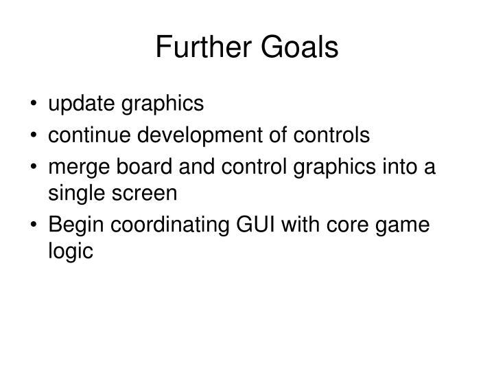 Further Goals