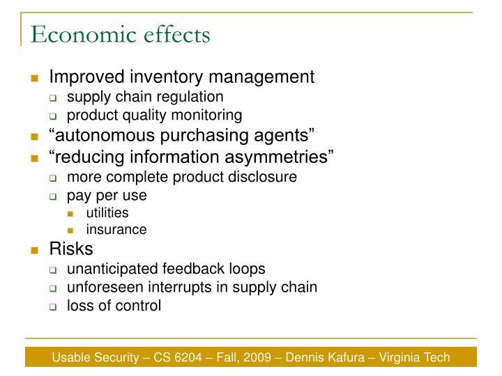 Economic effects