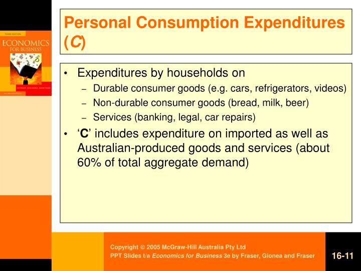 Personal Consumption Expenditures (