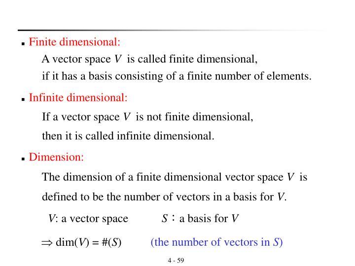 Dimension: