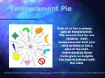 temperament pie