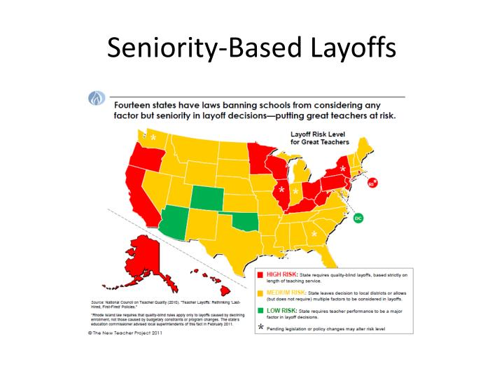 Seniority-Based Layoffs