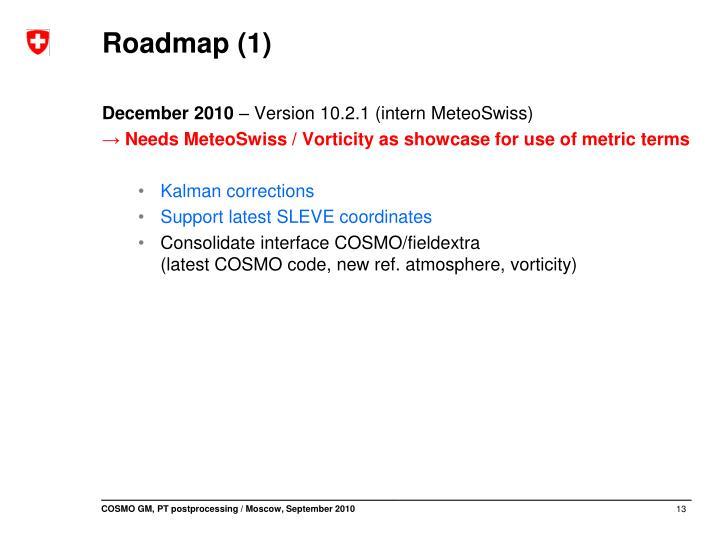 Roadmap (1)