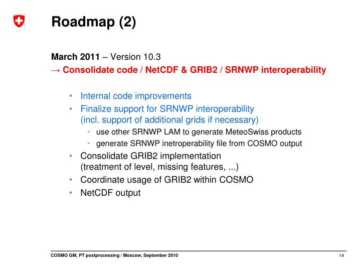 Roadmap (2)