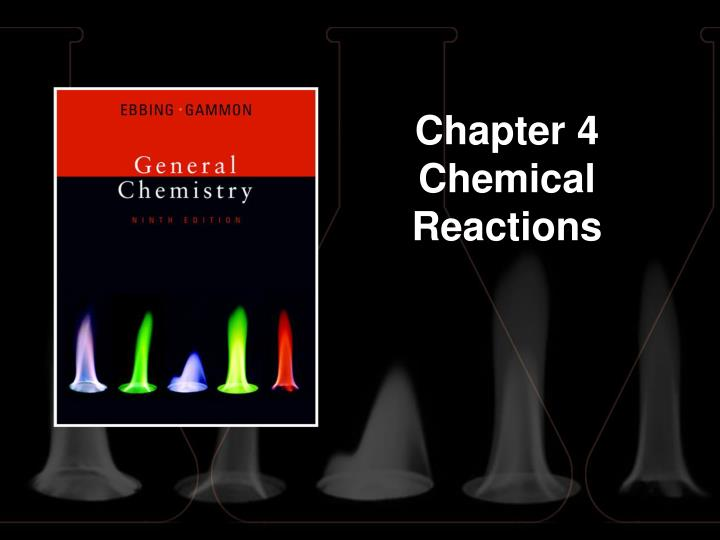 chapter 4 chemical reactions n.