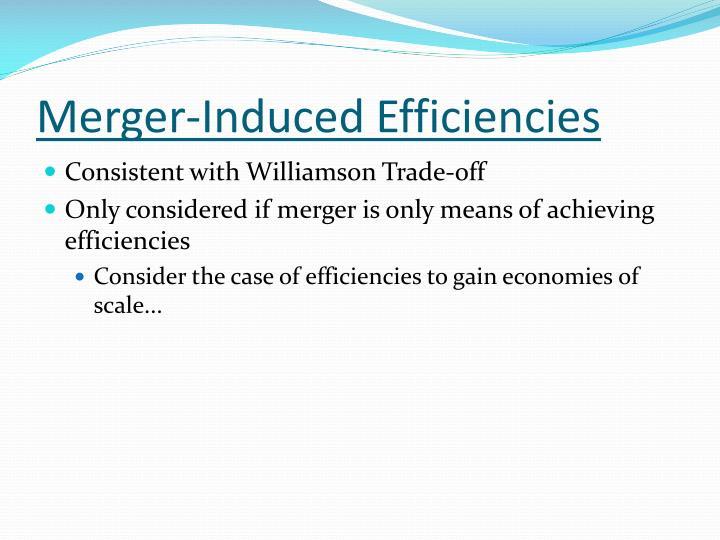 Merger-Induced Efficiencies