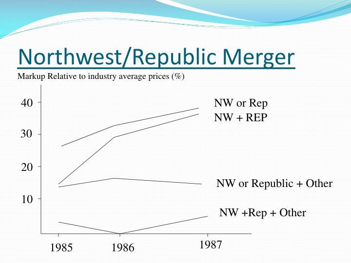 Northwest/Republic Merger