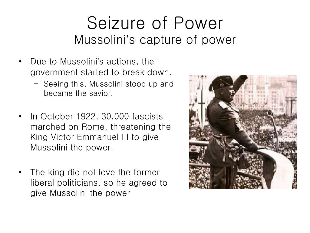 Ppt Benito Mussolini Powerpoint Presentation Free Download Id 5741565