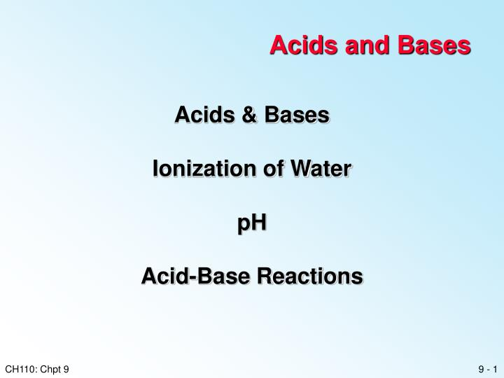acids bases and salts research paper Open document below is an essay on acids and bases from anti essays, your source for research papers, essays, and term paper examples.
