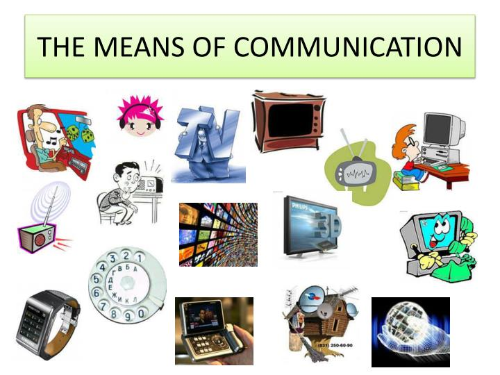 3 means of communication   Research paper Sample