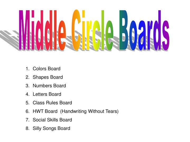 Middle Circle Boards