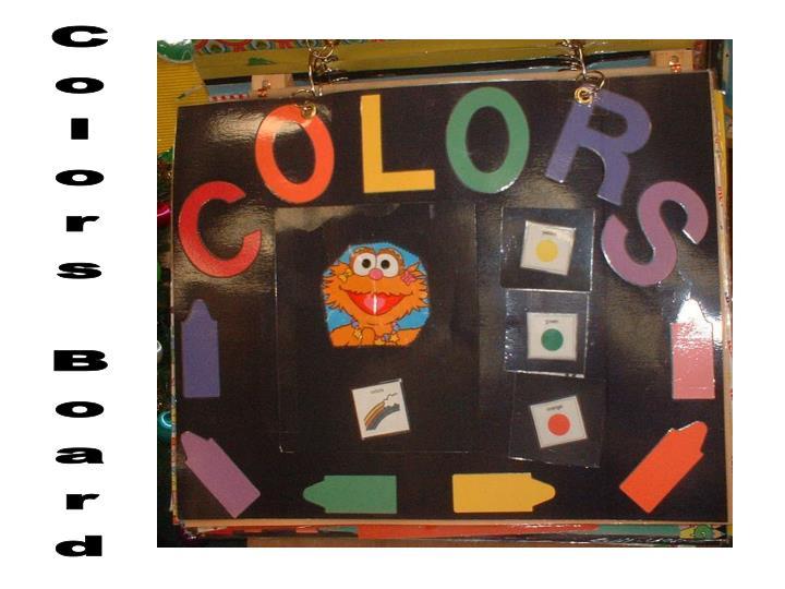 Colors Board