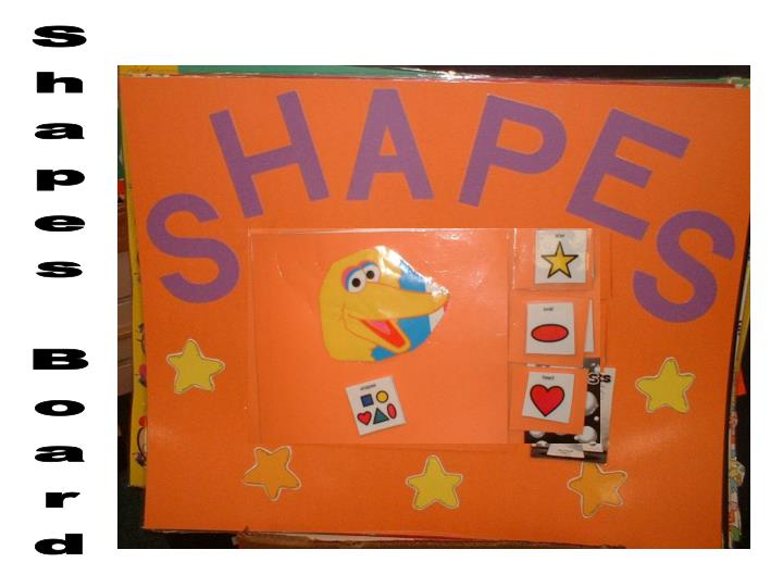 Shapes Board