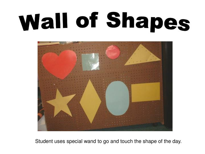 Wall of Shapes