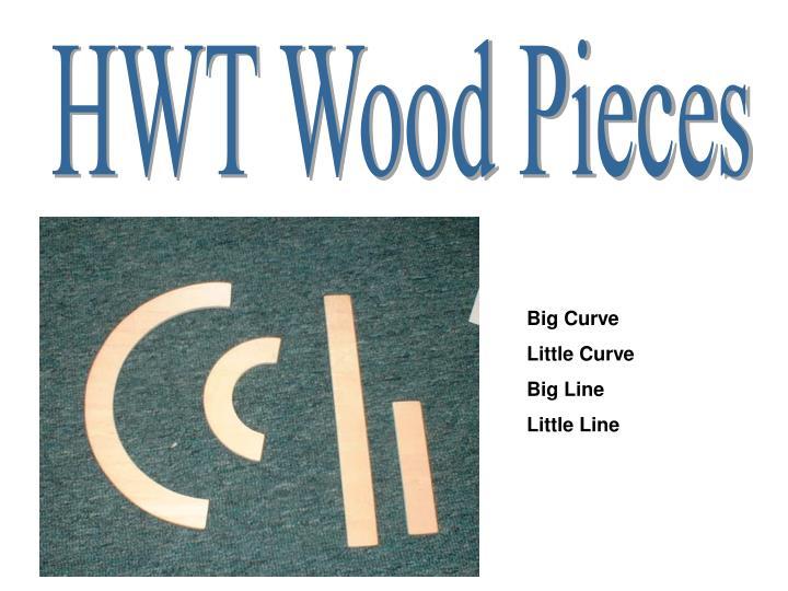 HWT Wood Pieces