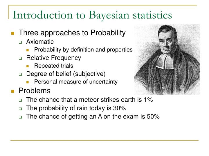 PPT - Introduction to Bayesian statistics PowerPoint