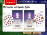 monoprotic and diprotic acids