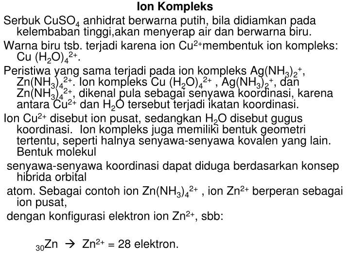 Ion Kompleks