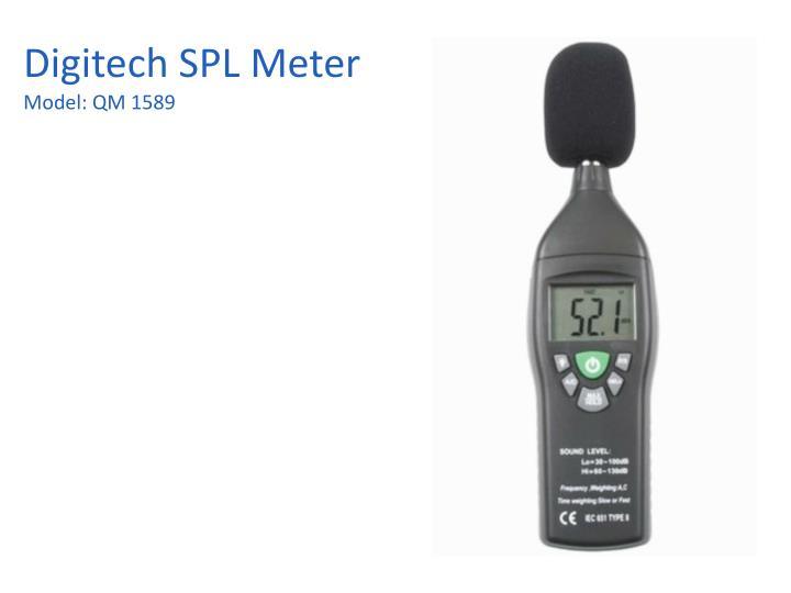 Digitech SPL Meter