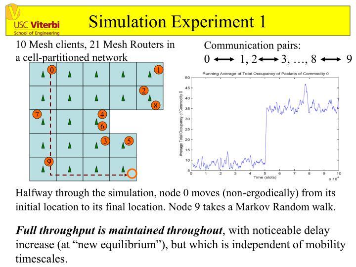 Simulation Experiment 1