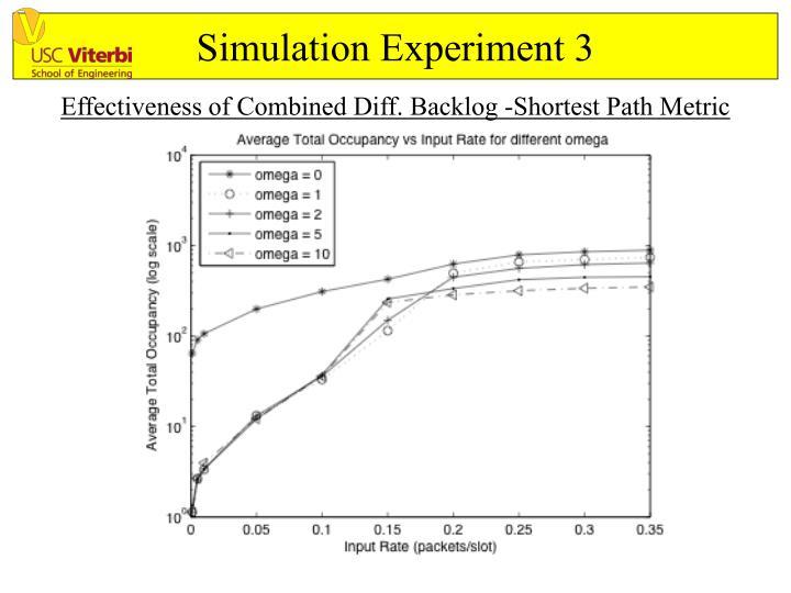 Simulation Experiment 3