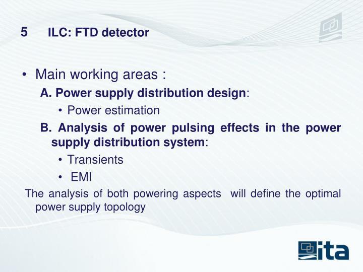ILC: FTD detector