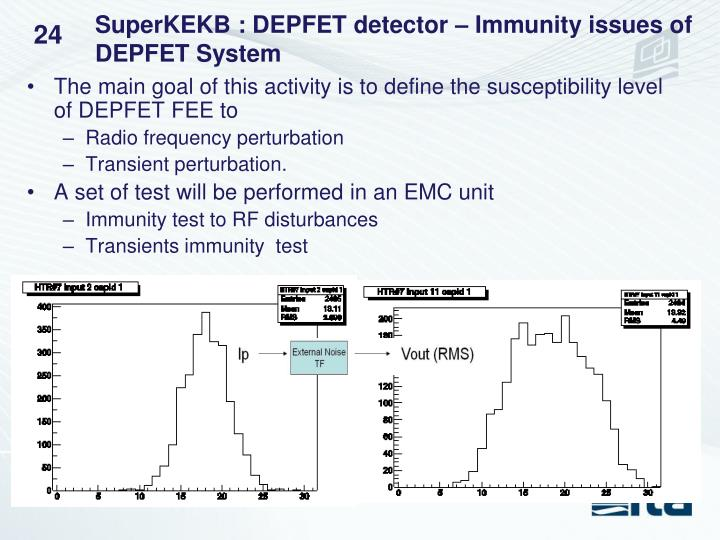 SuperKEKB : DEPFET detector – Immunity issues of DEPFET System