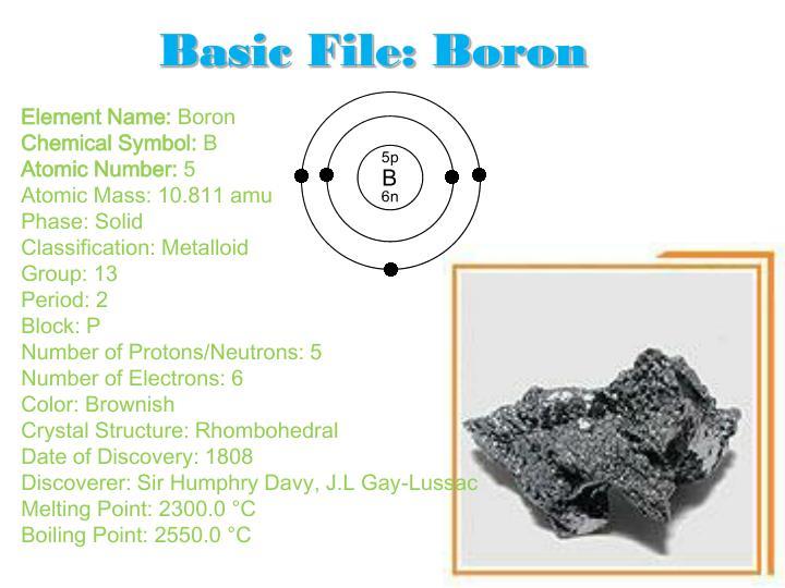 Ppt Lithium Beryllium Boron Powerpoint Presentation Id5742588