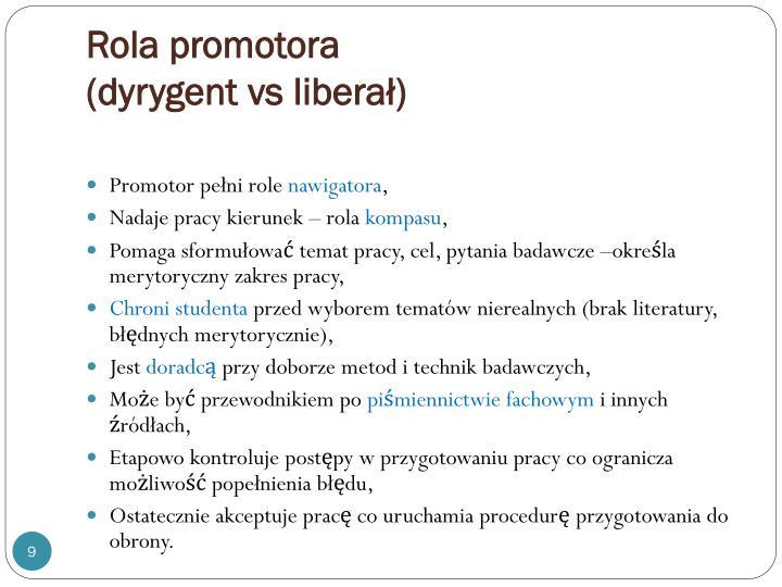 Rola promotora