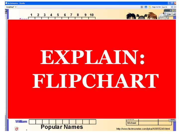 EXPLAIN: FLIPCHART