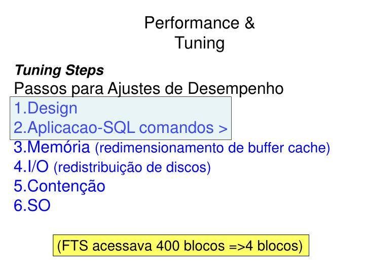 Performance & Tuning