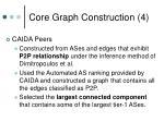 core graph construction 4