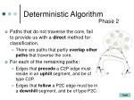 deterministic algorithm2